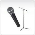 Microfoons & statieven