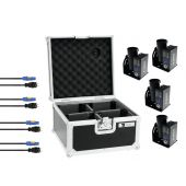 Set 4x TCM FX E-Shot + 4x Cables + Case
