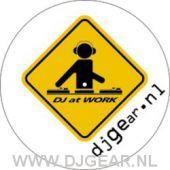 DJ AT WORK special design slipmats (set)