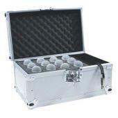 ROADINGER Microphone Case voor 12 Microphones silver