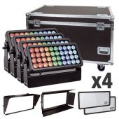 Showtec Helix S5000 Q4 Set 40 x 10W 10°