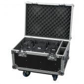 Showtec EventLITE 4/10 Q4 Set Flightcase inclusief 6 EventLITEs