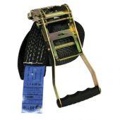 Showtec Strap 50mm 9mtr Single Black 5000kg