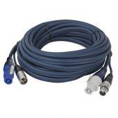 DAP-Audio Powercon / XLR Extension Audio 600cm
