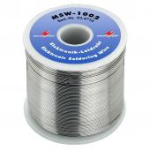 Monacor MSW-1002 Loodvrije soldeerdraad MSW-1002 = 1 kg