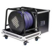 DAP Stagewheel Flightcase - Case voor Multikabel Haspel