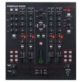 american Audio 14 MXR dj mixer met midi
