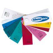 Showtec Modelboek Kleurenfilters