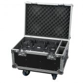 Showtec EventLITE 4/10 Q4 Set Flightcase inclusief 6 EventLITEs
