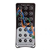Showtec Quick DMX IR Remote Optionele afstandsbediening voor 512 plus