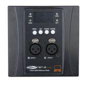 Showtec NET-2 Panel 3-pin, Black housing