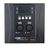 Showtec NET-2 Panel 5-pin, Black housing