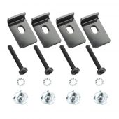 "Adam Hall 5922PACK Speaker clamp kit. 4 pcs each. Suitable for 10"" and 12"" speakers."