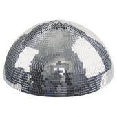 Half-mirrorball 30 cm 30 cm halve spiegelbol voor muur- en plafondmontage met motor
