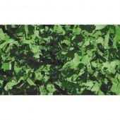 Showtec Show Confetti Metal Green, Rectangle, 1 kg Flameproof