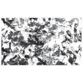 Show Confetti Silver Metalic retangular