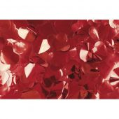 Showtec Show Confetti Metal Red, Hearts, 1 kg, Flameproof