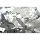 Showtec Show Confetti Metal Silver, Flowers, 1 kg, Flameproof