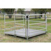 Showgear Event Box Set - 2x2m Compleet platform voor vier personen