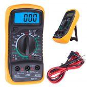Digitale multimeter  XL830L met uitgebreide mogelijkheden meetbereiken