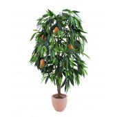 EUROPALMS Mangoboom met fruit, kunstplant, 165cm