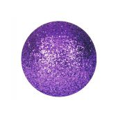 EUROPALMS Deco Ballen 3,5cm, violet, glitter 48x