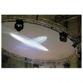 showtec Circle Cloth White 3mtr cirkel
