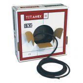Titanex neopropeen kabel 5 x 6mm per mtr