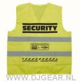 Security-jacket Yellow