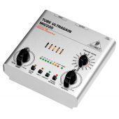 Behringer MIC200 TUBE ULTRAGAIN  buizen microfoon voorversterker 2 kanaals