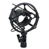 DAP Microfoon houder 44-48 mm black anti shock mount