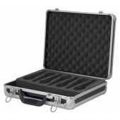 Dap microfoon case voor 7 micro incl schuim zwart