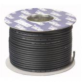 DAP MC-226 Zwart Microfoon Kabel dubbele isolatie 100mtr op rol