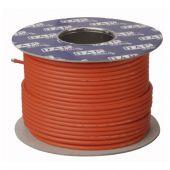 DAP MC-226 Rood Microfoon Kabel dubbele isolatie 100mtr op rol