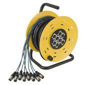 Dap audio Python 8 Stagewheel 8x XLR 16mtr