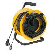 D954120 DAP Kabelhaspel met 15meter gecombineerde audio Power/Signal kabel