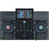 Denon DJ Prime 4 4-deck standalone DJ-systeem met 10-inch touchscreen