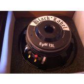 Electro Voice EVM12L Black Label recone service