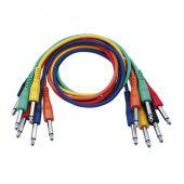 Dap audio FL11 - 6 gekeurde ongebalanceerde patch Kabels 30cm