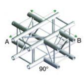 Showtec FQ30016 Vierkant Truss Kruis 4-way
