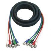 DMT FV05150 5 voudige BNC naar BNC kabel 1,5mtr
