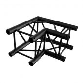 Showtec Corner 90° BLACK, Pro-30 Square P Truss