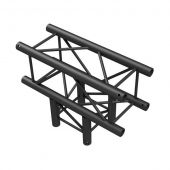 Showtec T-Cross 3-way BLACK, Pro-30 Square G Truss