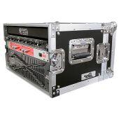 Road Ready rr6ued   rack Flightcase geschikt voor effectenrack