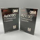 3M professional Audio Recording Cassette AVX90