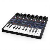 Reloop  Keypad Compact USB MIDI keyboard met DAW control en drum pads