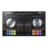 Reloop  Mixon 4 4-Channel flagship controller designed & co-developed with Serato & Algoriddim