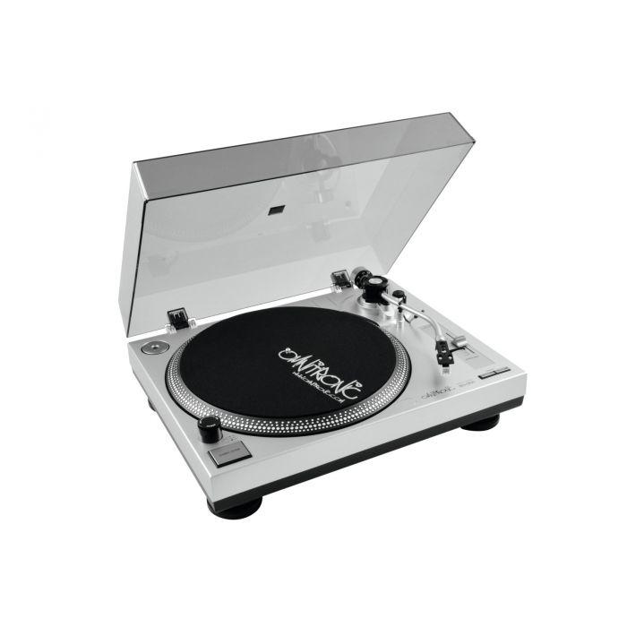 Omnitronic BD-1350 Beltdrive Draaitafel silver