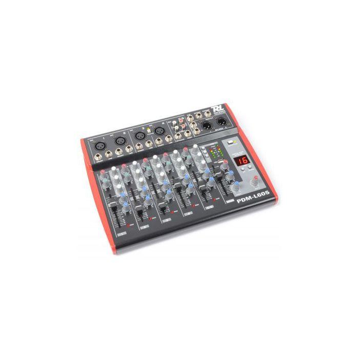 Power Dynamics PDM-L605 6-kanaals Live Mixer