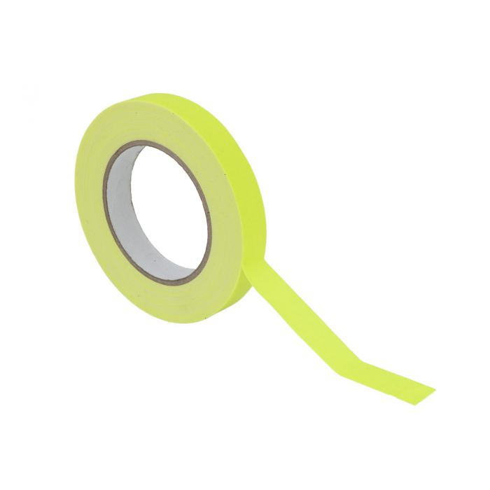 Gaffa Tape 19mm x 25m neon-yellow UV-active